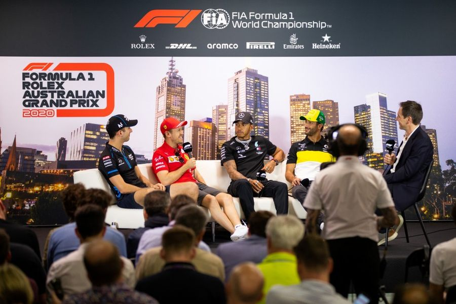 Australian GP Drivers' Conference