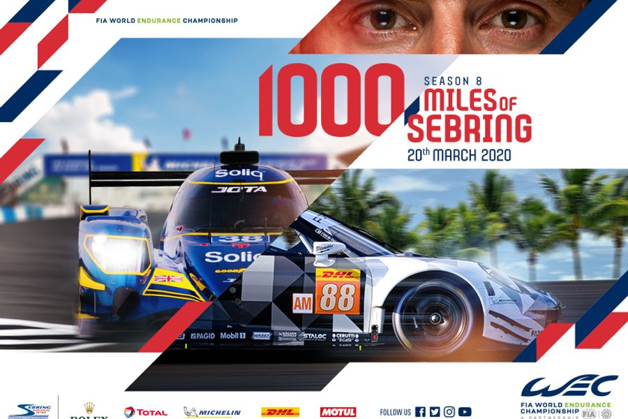 Cancellation of Sebring 1000 Miles WEC scheduled for March 20