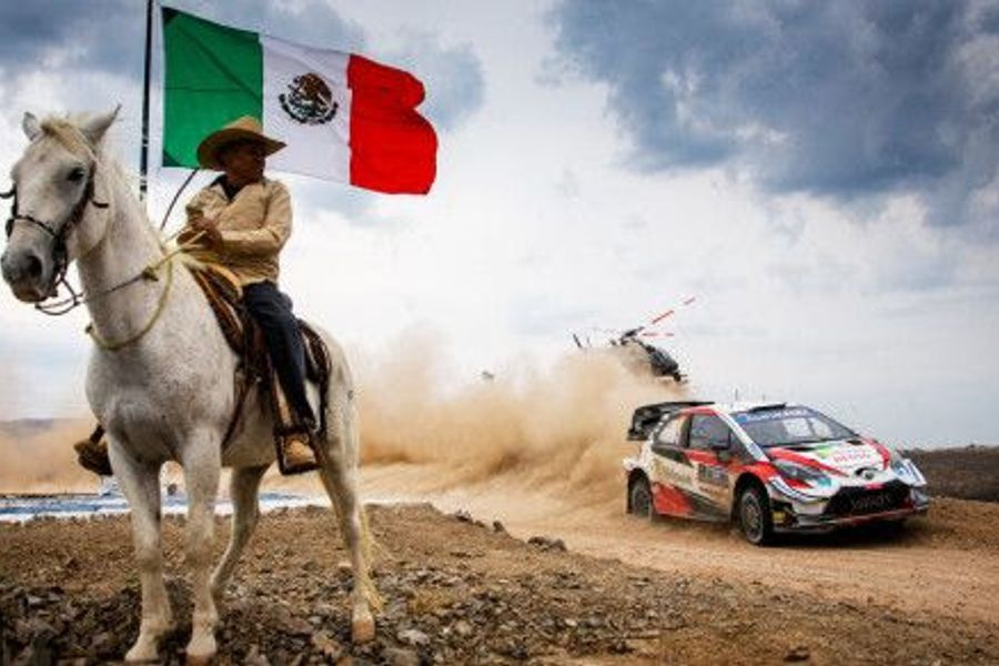 Ogier seals sixth win as Rally Mexico ends early