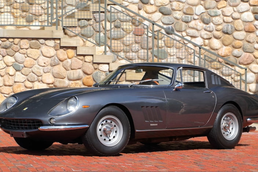 '67 Ferrari 275 GTB/4 Berlinetta consignd for Mecum Indy 2020