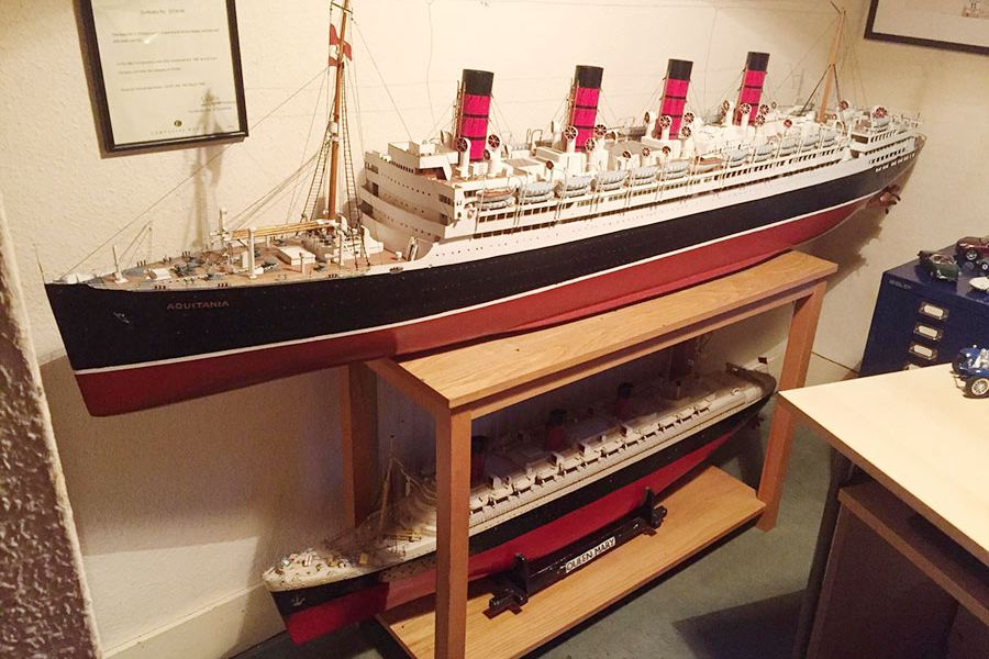 Model ship collection for sale