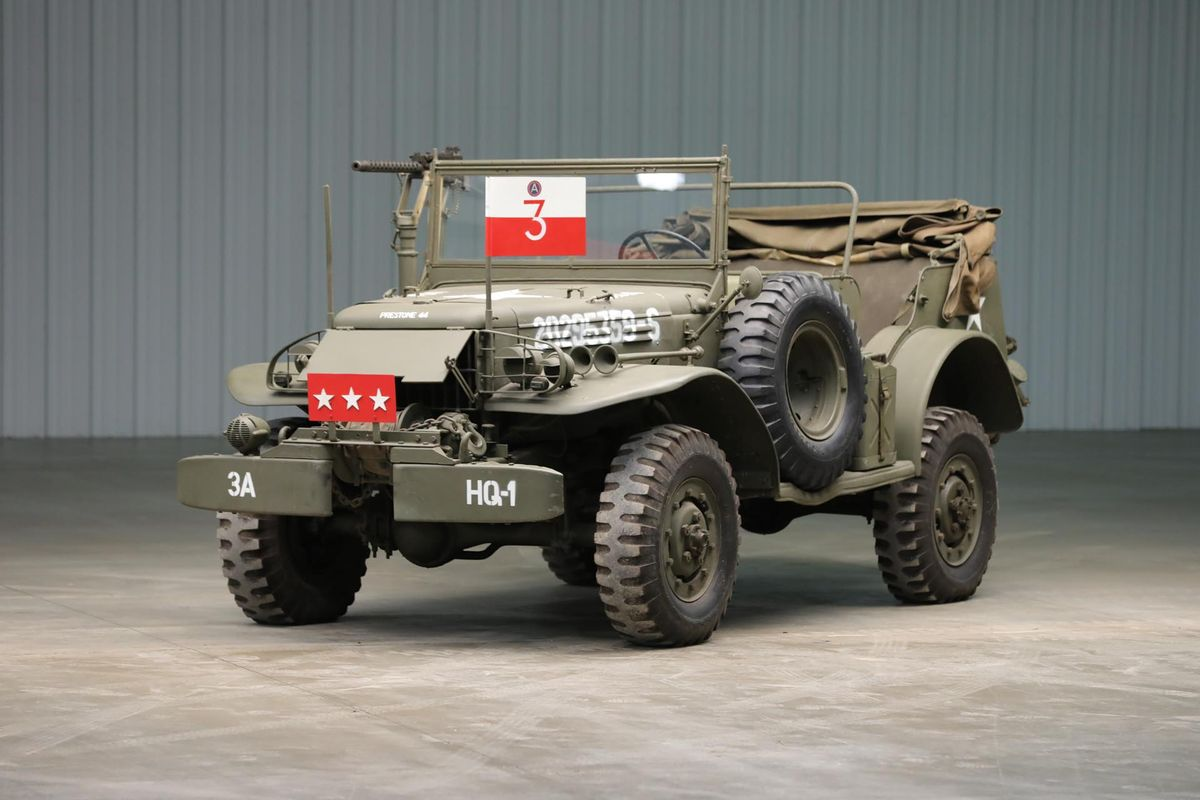 General Patton's Command Car on offer at USAmericana Festival Auction