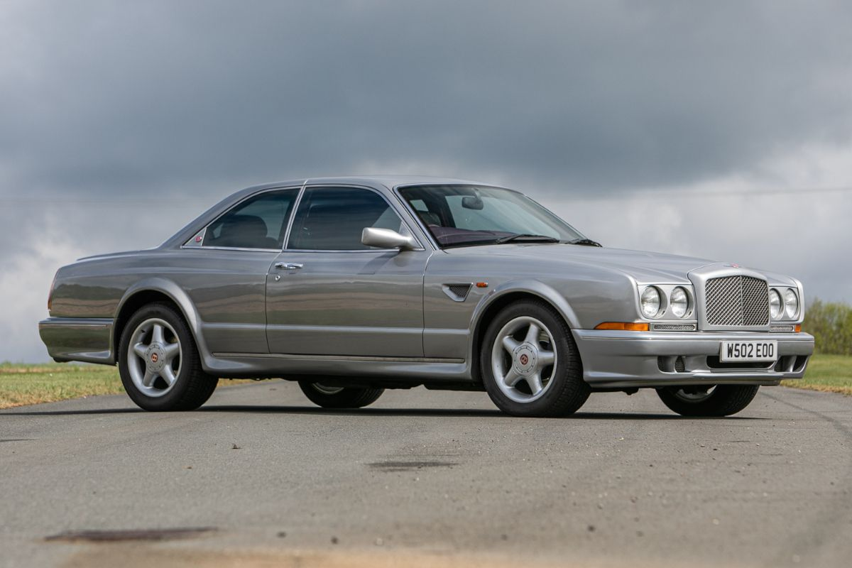 Rare Bentley Continental R Mulliner Widebody up for auction