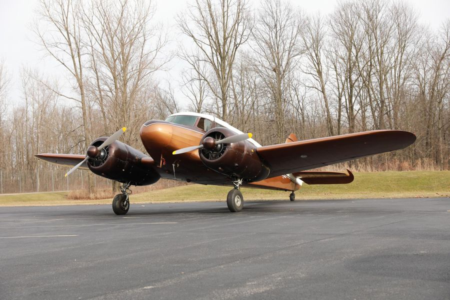 1944 Cessna UC-78 warbird on offer at Worldwide Auctioneers