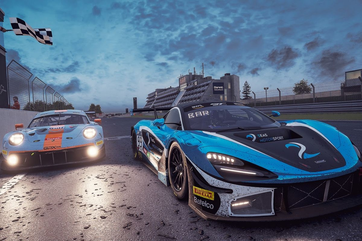 SRO E-Sport GT Series delivered two action-packed races at the Nürburgring