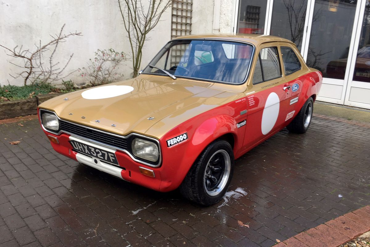 1968 Ford Escort 'Alan Mann' Recreation at H&H auction