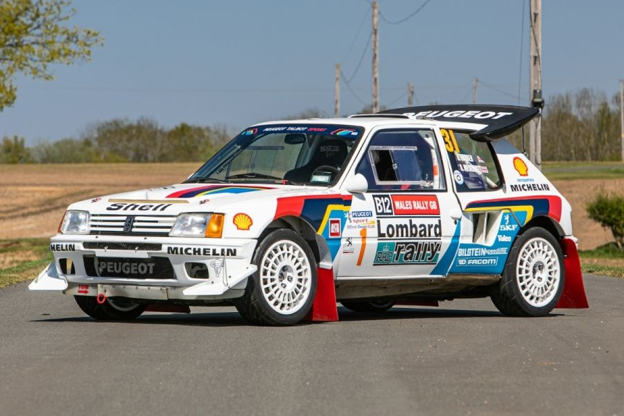 Peugeot 205 Turbo 16 Group B sold for £336,600 @ Silverstone Auctions, Results