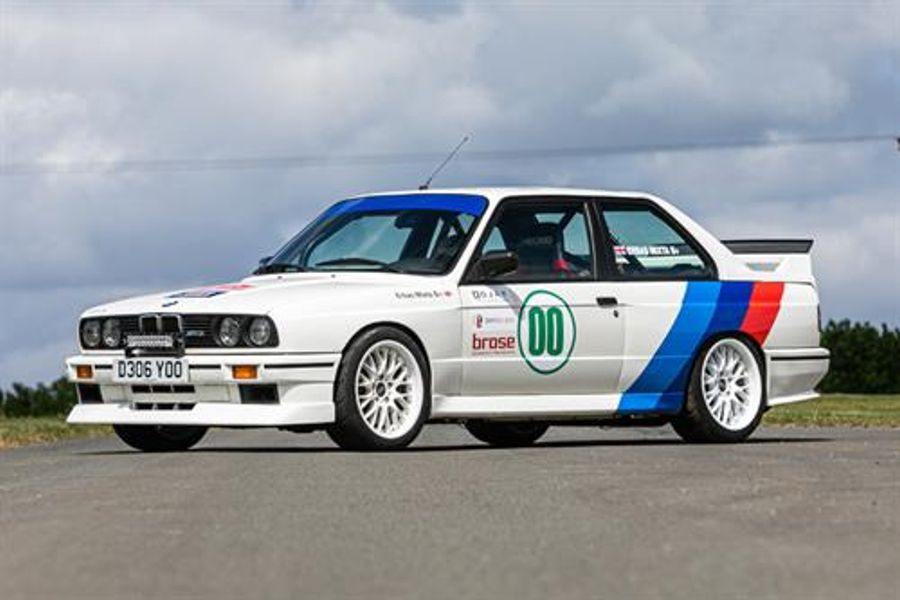 Jay Kay  BMW M3 E30 Competition reaches  top estimate @ Silverstone Auctions