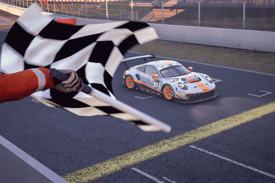SRO E-Sport GT: Deletraz captures Pro win for Porsche