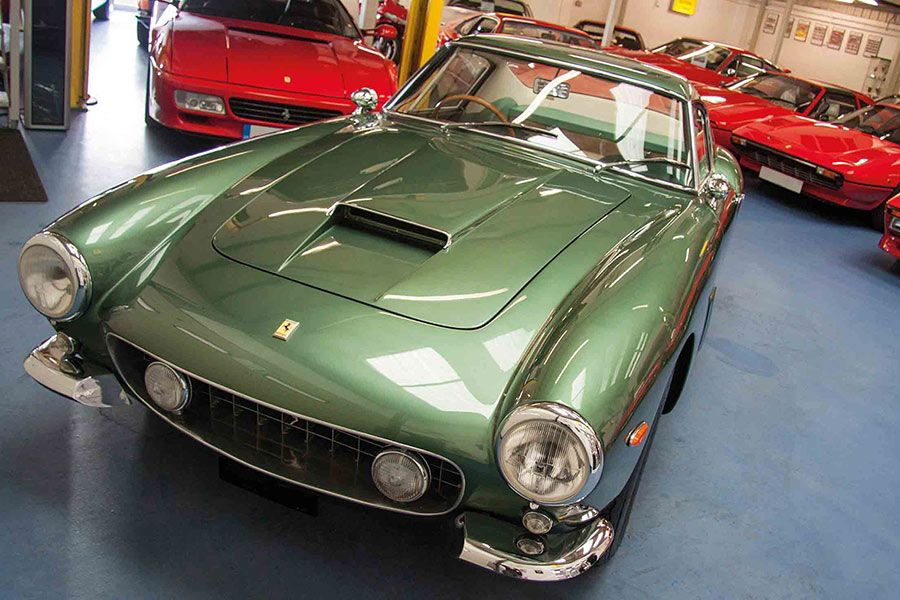 New web site for Foskers - Ferrari Specialists