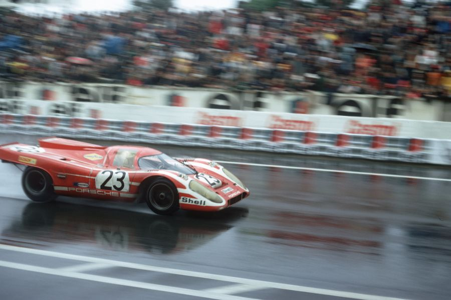Porsche celebrates first overall victory at Le Mans 50 years ago