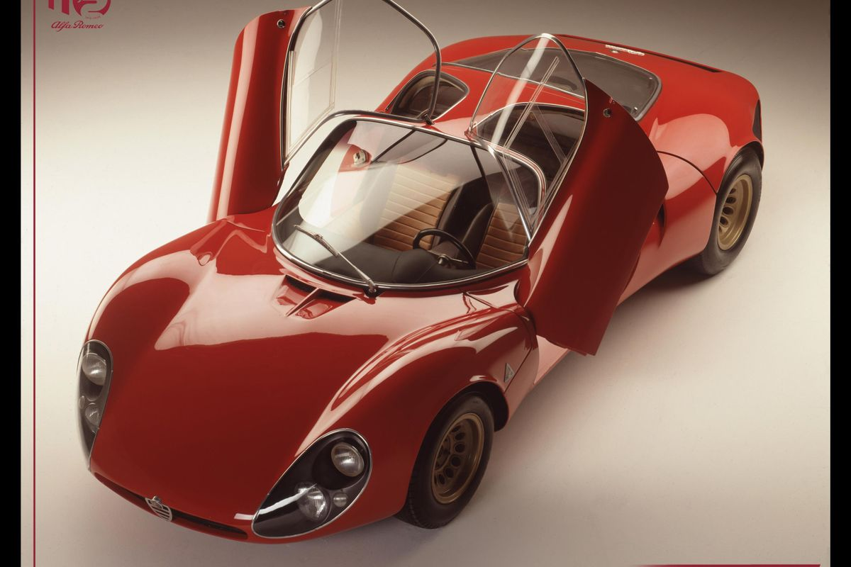 Alfa 33 Stradale, Carabo and Montreal - masterpieces of innovation in style