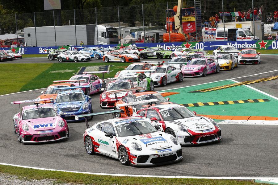 Porsche Mobil 1 Supercup returns to real racetracks