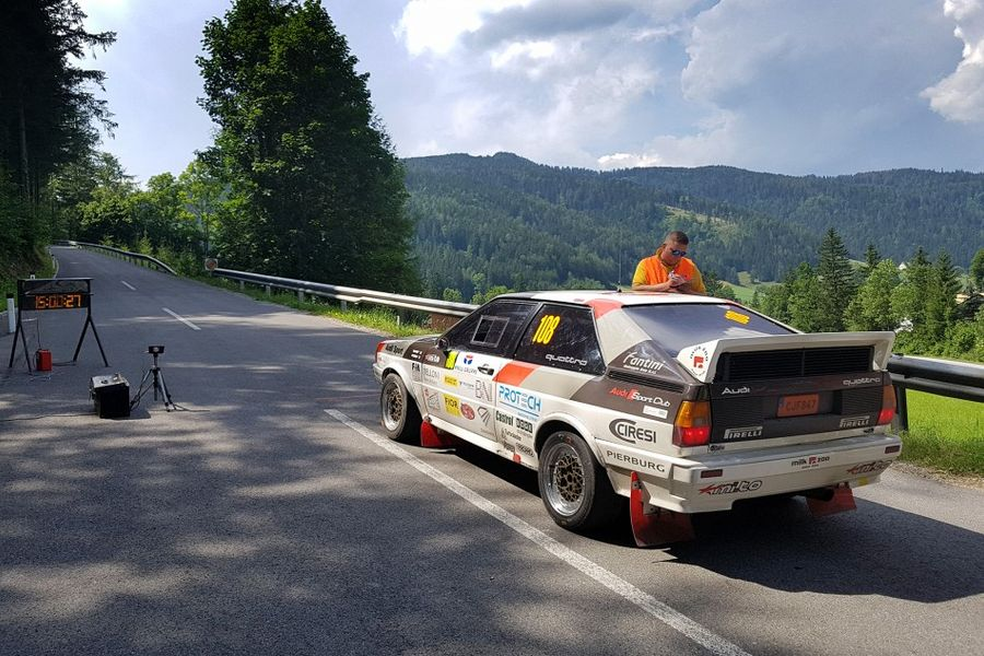 Revised five round European Historic Sporting Rally Championship