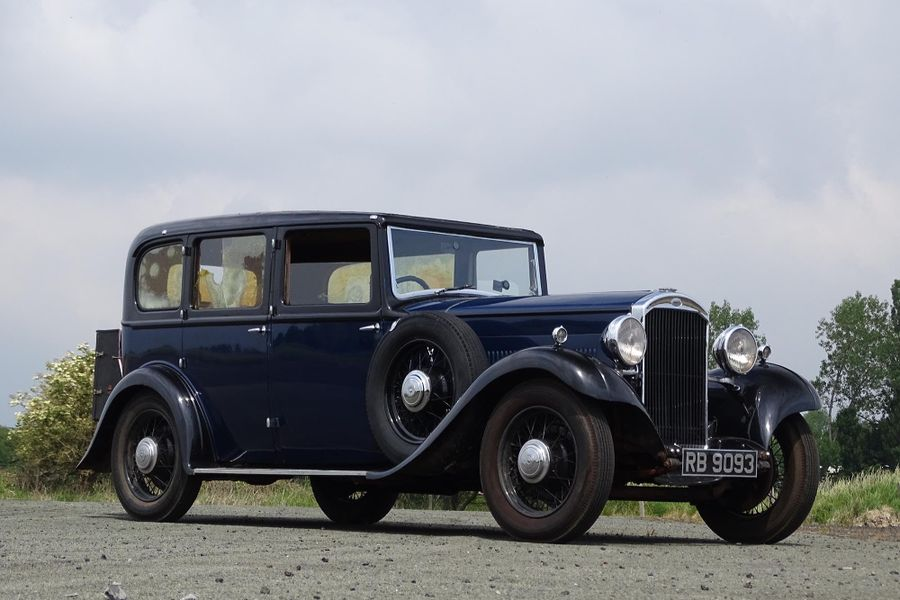 Humber 16/60 Saloon at Live Auction Online