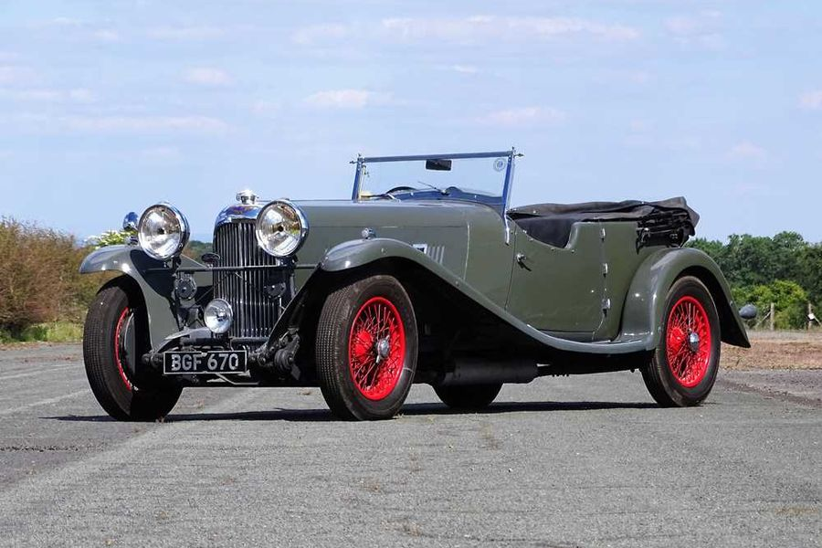 1934 Lagonda M45 T7 Tourer sold for  £184,500 at H&H auction, results