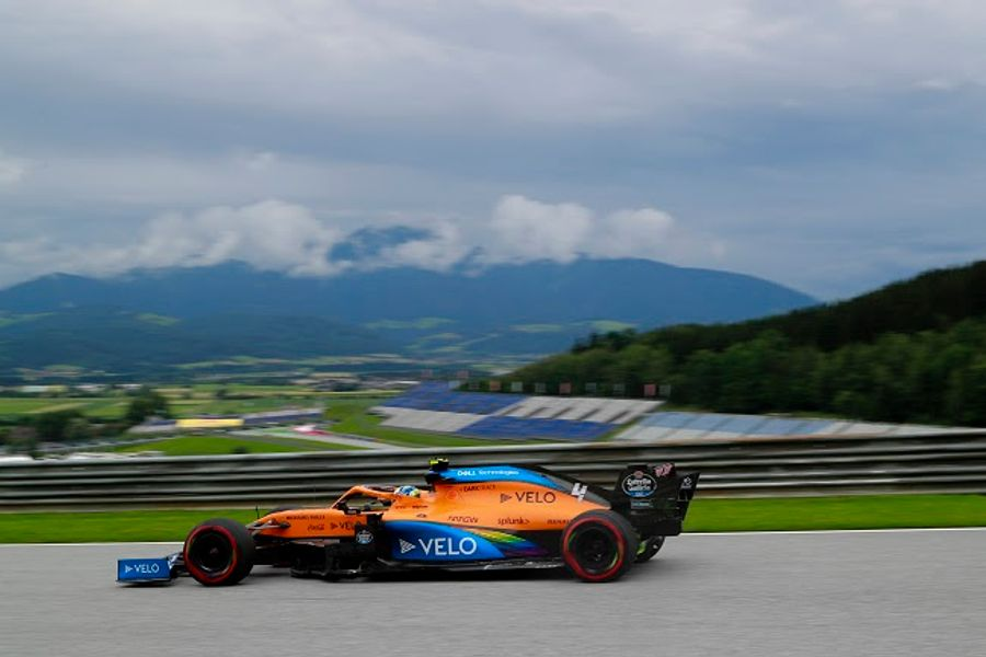 A positive first Friday for McLaren in Austrian GP FP