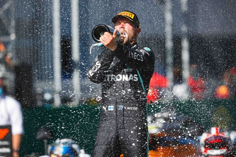 Bottas wins eventful Austrian Grand Prix, penalty demotes Hamilton to P4