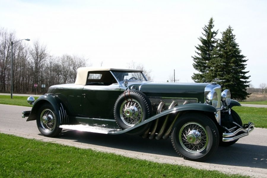 Duesenberg Model J Torpedo Convertible Coupe wins Pre-War Supercars Class