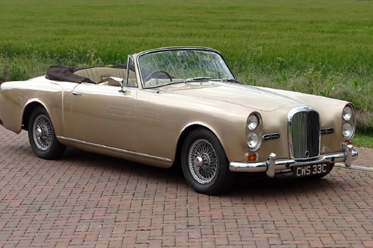 1965 Alvis TE21 Drophead Coupe at H&H Online Auction