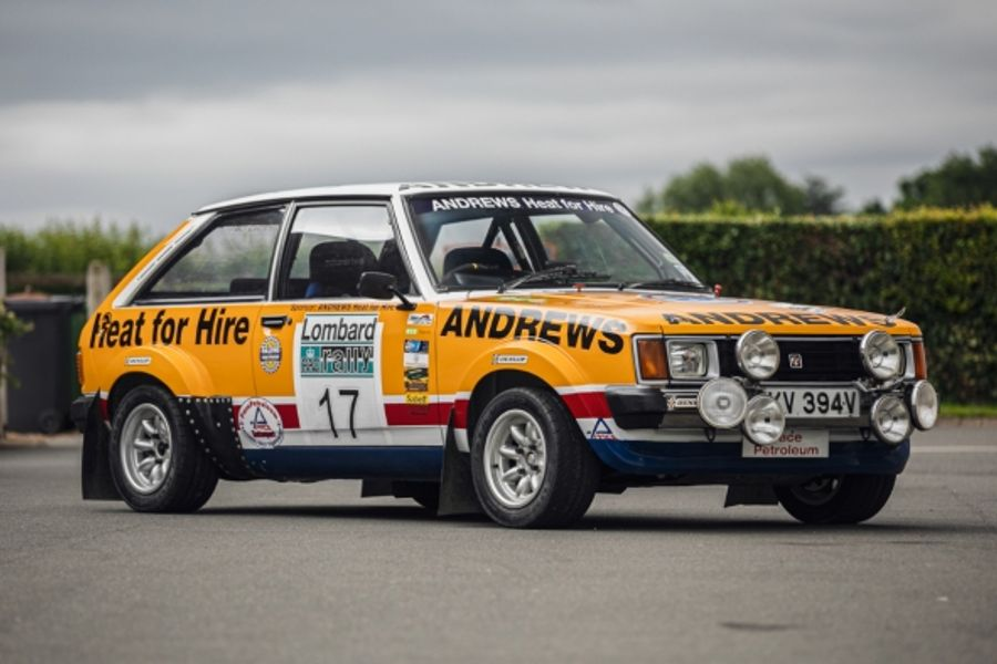 Ex-Russell Brookes 1981 works Talbot Lotus Sunbeam at Silverstone Auctions