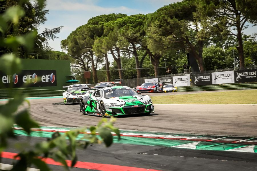Belgian Audi Club Team WRT wins GT World Challenge Europe at Imola