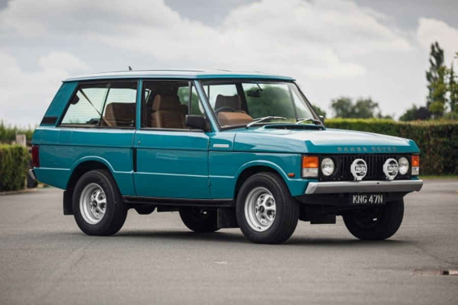 Ex Jay Kay 1992 Range Rover 4.5 SE KR Retromod  at Silverstone Auctions