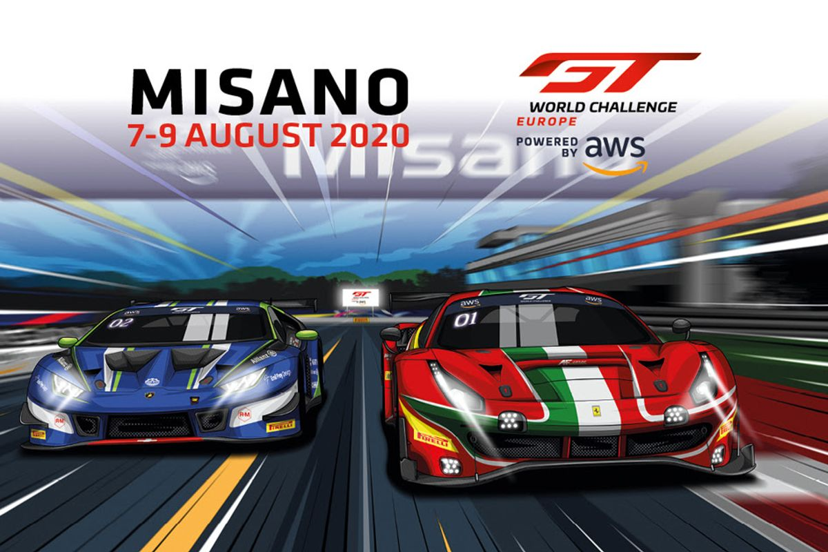 GT World Challenge Europe Sprint Cup returns at Misano