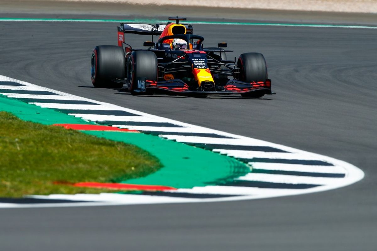 Verstappen quickest in British GP FP1
