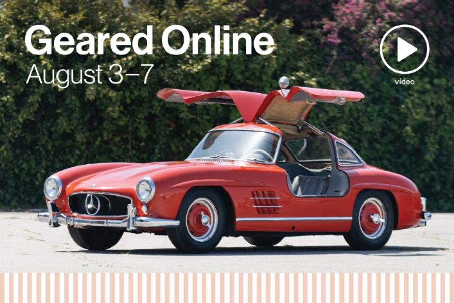 1955 Mercedes-Benz 300 SL Gullwing among German Imports for Geared Online