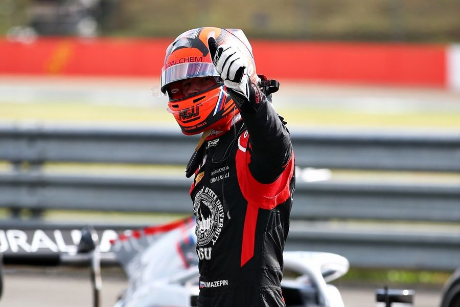 Nikita Mazepin takes maiden Race of Silverstone F2 Feature win