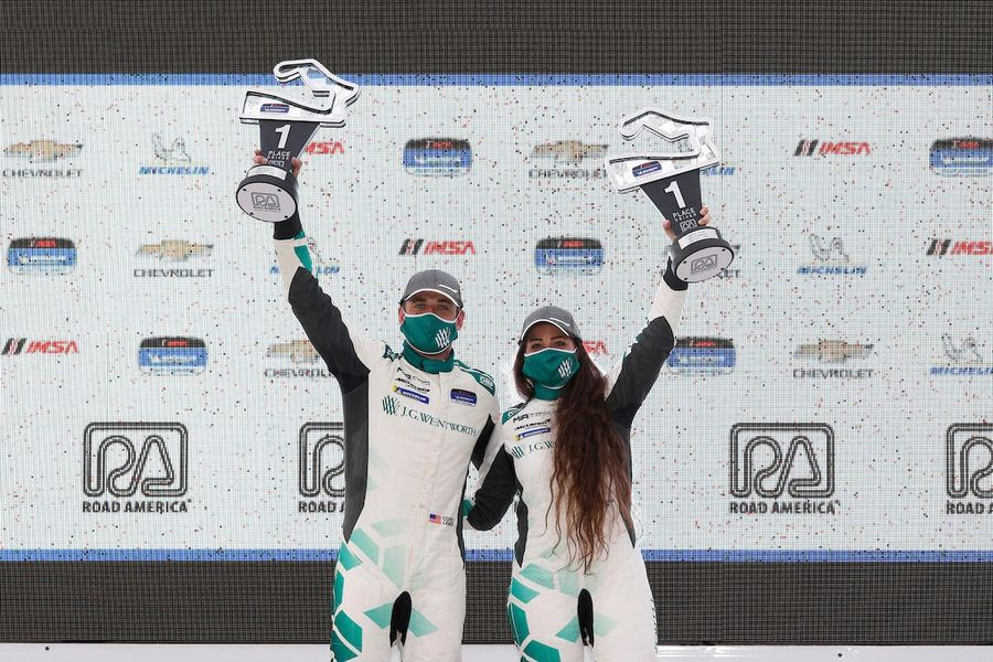 McLaren Magic at Pilot Challenge Road America for Lewis and Monk