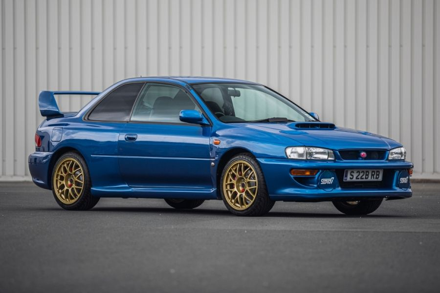 1998 Subaru Impreza 22B-STI Sells for £130,500 at Silverstone Auctions, results