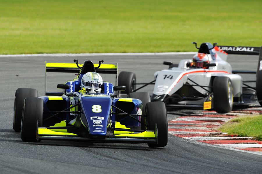 Frederick flies to dream British F3 double at Oulton Park