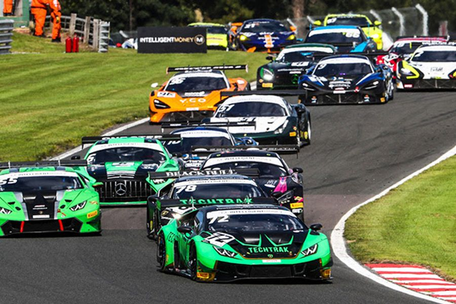 Balon and Keen lead Barwell one-two at Oulton British GT Race 2