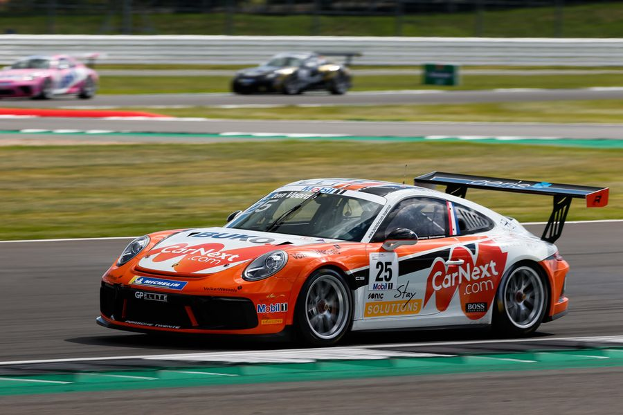 Double success for GP Elite, Larry ten Voorde in Porsche Mobil 1 Supercup