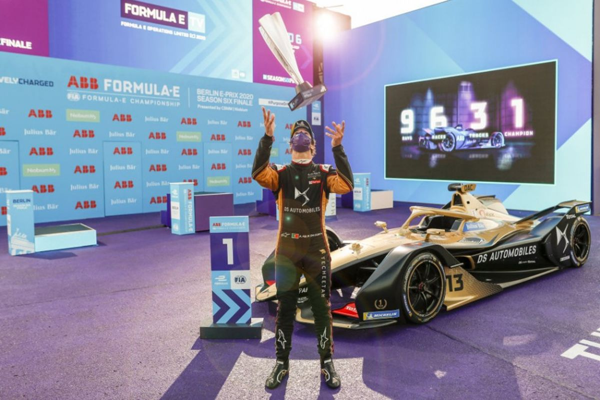 Da Costa wins Berlin E-Prix