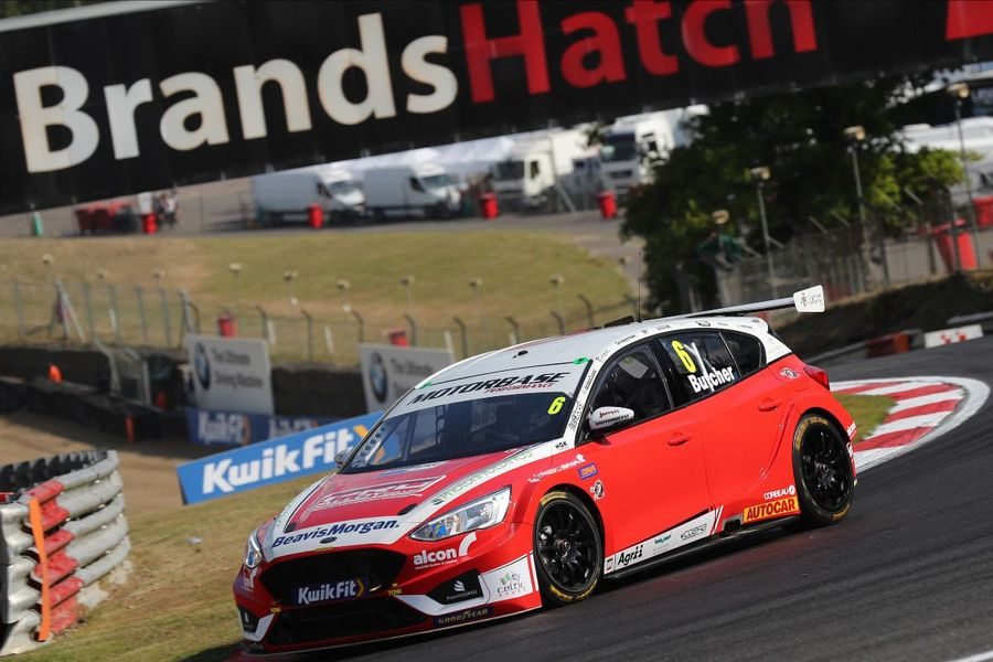 Rory Butcher takes BTCC pole at Brands Hatch