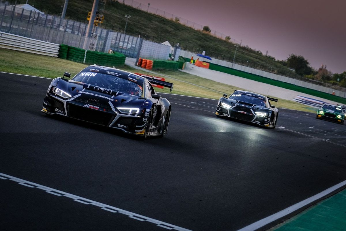 Belgian Audi WRT take one-two finish in Misano GT World Challenge opener