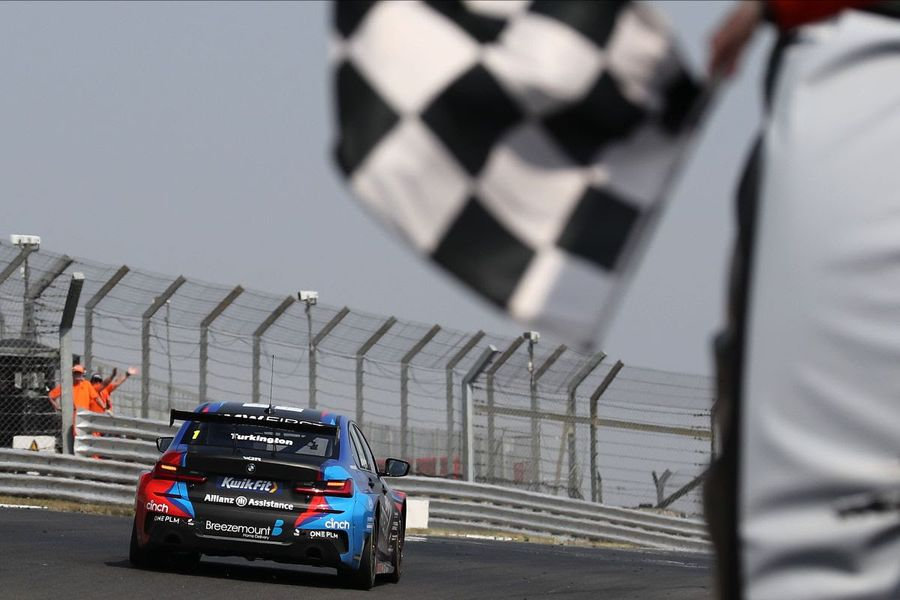 Three different winners on fantastic day of BTCC racing