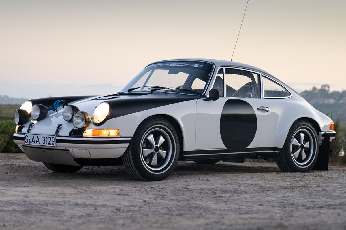 Porsche 911 ST Rally among available lots from Gooding's Geared Online