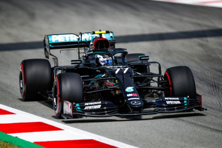 Bottas tops timesheets in Spanish Grand Prix FP1