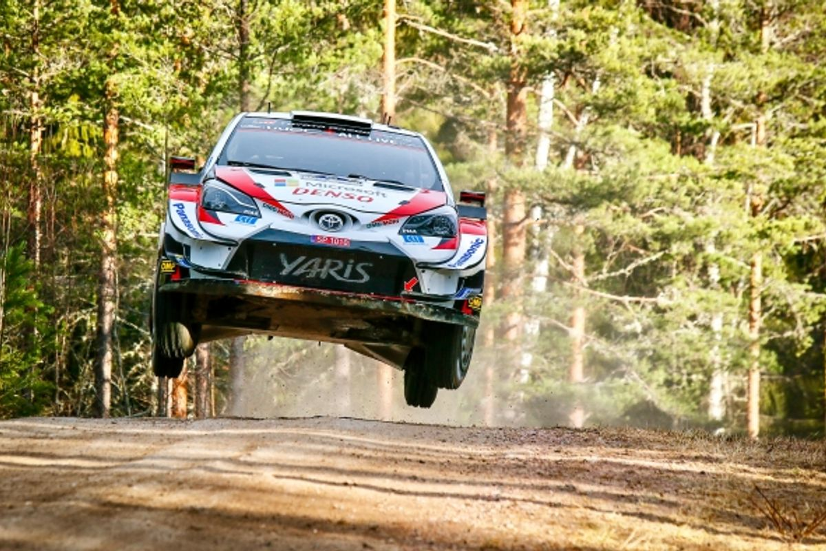Elfyn Evans ready for WRC restart in Estonia