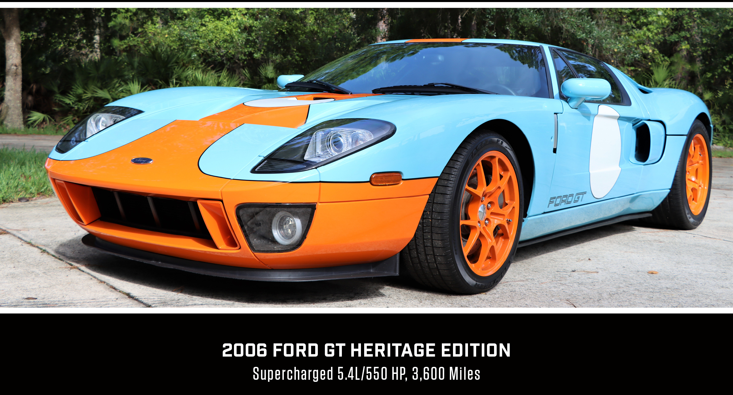 Supercharged Ford Gt Heritage Edition At Mecum Kissimmee Auction Historic And Market News Racecar Creative Digital Solutions