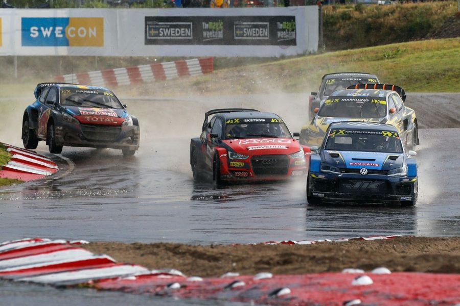 Johan Kristoffersson makes winning comeback at Holjes World RX