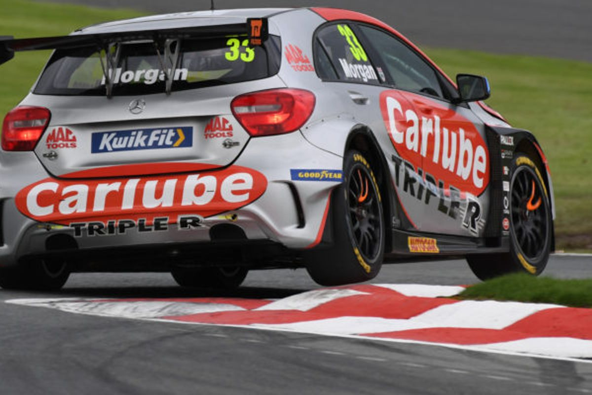 Adam Morgan wins Oulton BTCC Race 3 with Carlube TripleR Racing