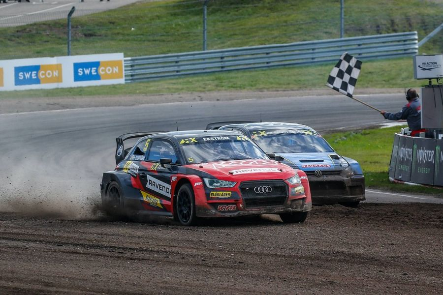 Mattias Ekstrom scores World RX of Sweden victory at home circuit