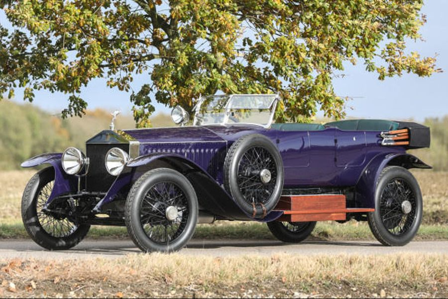 Stunning Rolls-Royce 40/50 HP Silver Ghost Alpine Eagle Tourer at Goodings