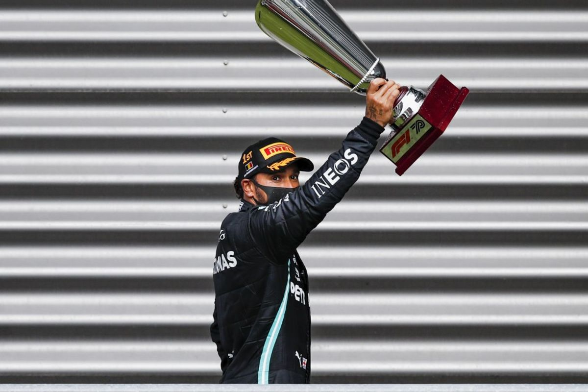 Lights to flag victory for Hamilton in Belgian GP