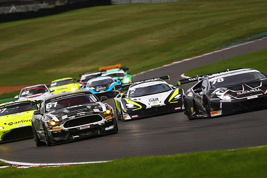 Barwell's Collard and Mitchell claim first GT3 wins at Brands